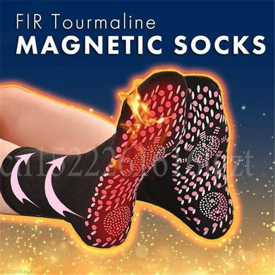 EP-Tourmaline Self-Heating Magnetic Socks Self-Heating Socks Tourmaline Magnetic Therapy Comfortable Winter Warm Massage Socks - boost-your-inside