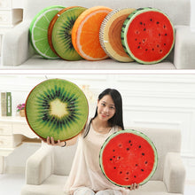 Load image into Gallery viewer, EP-New Cute Creative 3D Summer Fruit PP Cotton Office Chair Back Cushion Sofa Throw Pillow Soft decorative pillows - boost-your-inside