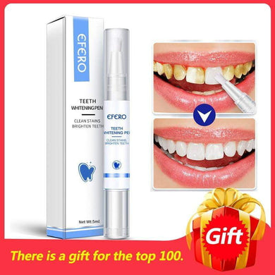 Teeth Whitening Pen Serum Cleaning Plaque Stains - boost-your-inside
