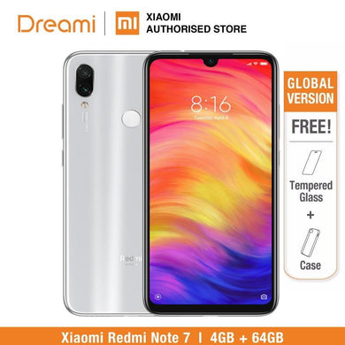 Global Version Redmi Note 7 64GB ROM 4GB RAM (Brand New and Sealed Box) note7 64gb - boost-your-inside