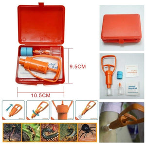 LIFE SAVER Outdoor Emergency Venom Suction Device Wild Poisonous Snake Bee Bite Vacuum Detoxification Device Safety First-aid Tool - boost-your-inside