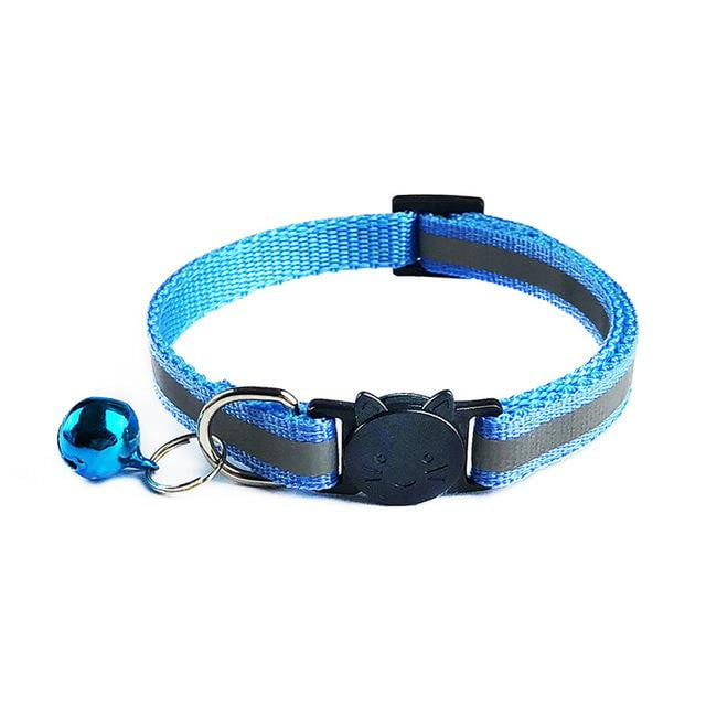 Adjustable 1.0 Nylon Dog Collars Pet Collars With Bells Charm Necklace Collar For Little Dogs Cat Collars Pet Supplies Hot Sale - boost-your-inside