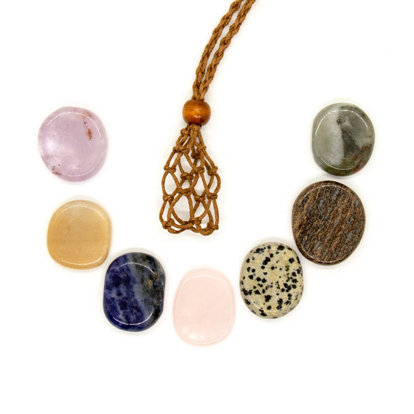 Chakra Cord Necklace Set - 1