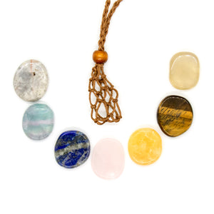 Chakra Cord Necklace Set - 2