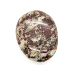 Pink Tourmaline Large Tumbled Meditation Stone
