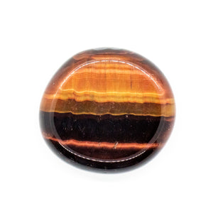 Red Tiger's Eye Palm Stone