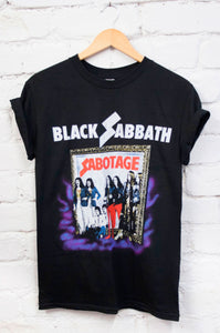 Black Sabbath 'Sabotage' Tee - little-lies-uk