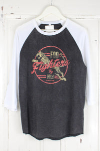 Foo Fighters Tiger Baseball Tee