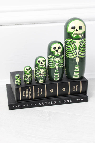 Skeleton Russian Dolls - little-lies-uk