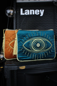 All Seeing Eye Velvet Purse