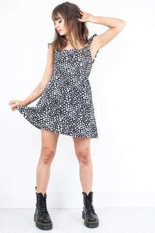 Sweet Emotion Knot Front Dress