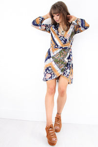 Wanderlust Wrap Dress