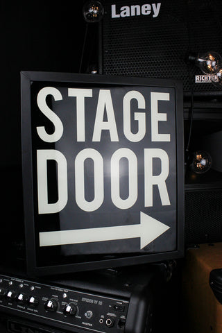 Stage Door Lightbox