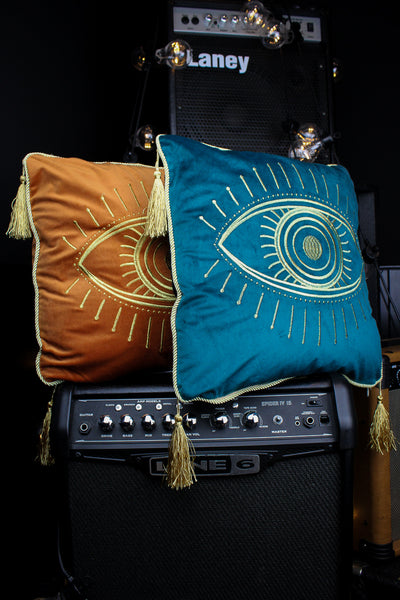 All Seeing Eye Velvet Cushion