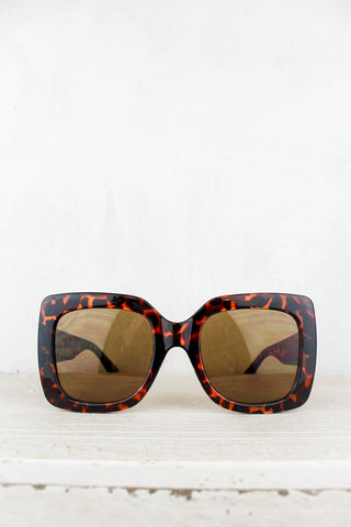 Farrah Brown Tortoiseshell Shades