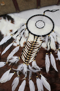 Traditional Beaded Dreamcatcher