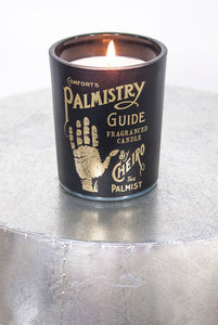 Palmistry // Phrenology Scented Candle Pot - little-lies-uk