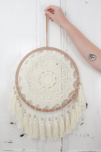 Crochet Tassel Dreamcatcher