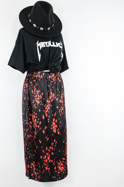 Midnight Boom Midi Skirt