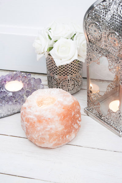 Himalayan Salt Tea Light Holder - little-lies-uk