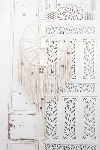 Extreme Macrame Beaded Dreamcatcher - little-lies-uk