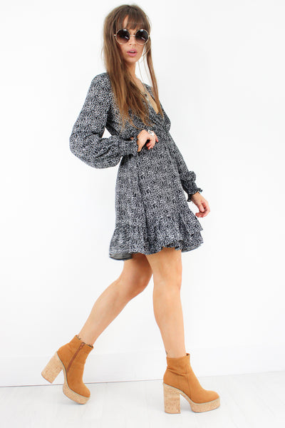 Easy Ride Wrap Dress