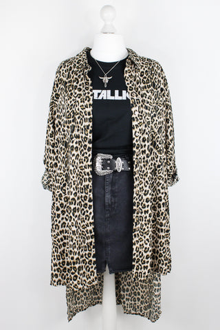 Louder Than Hell Leopard Shirt | Plus