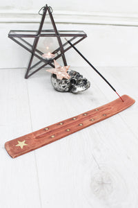 Gold Star Incense Holder