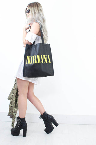 Nirvana Tote Bag - little-lies-uk