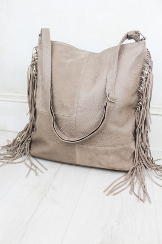 Dreaming Fringed Tote