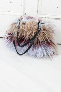 The Groover Faux Mongolian Fur Bag