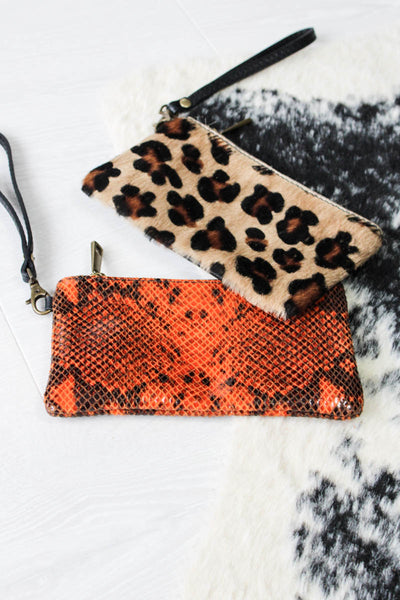 Rust Snake Purse - little-lies-uk