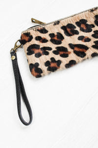 Leopard Ponyskin Purse - little-lies-uk