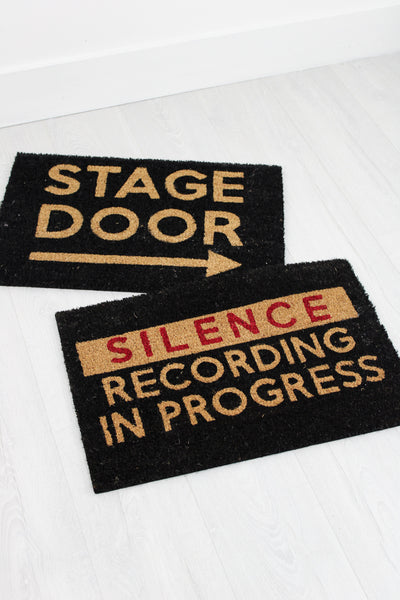 Stage Door Doormat