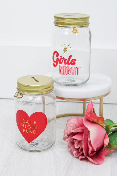 Girl's Night Money Jar