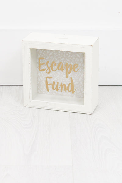 Escape Fund Money Box