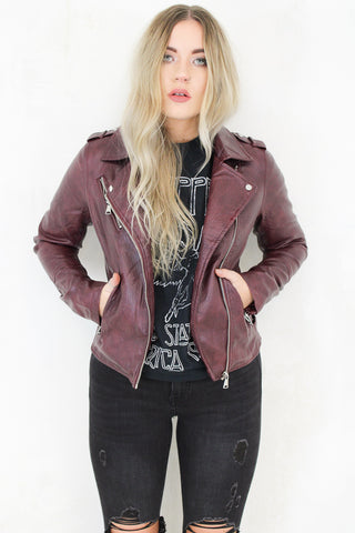 It's Only Rock 'n Roll Biker Jacket