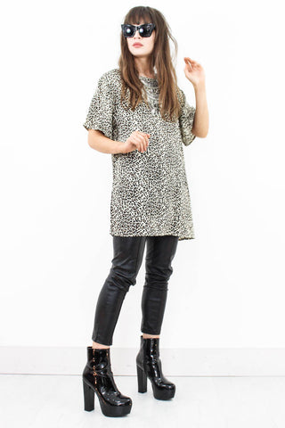 Wild Side T-Shirt Dress - little-lies-uk