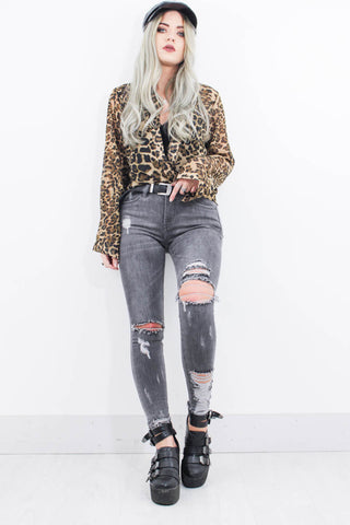 Rapture Distressed Jeans - little-lies-uk