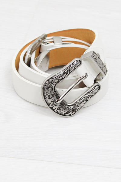 Jolene Double Western Belt