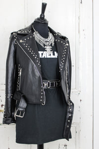 Into The Void Studded Biker