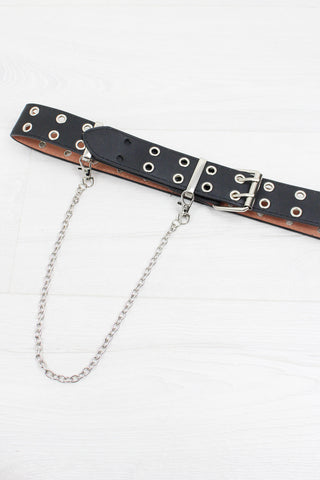 Dirty Punk Chain Belt