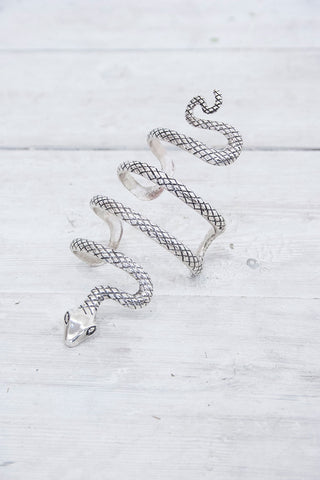 Serpent Cuff - little-lies-uk