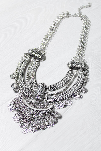 Silver Springs Gypsy Necklace - little-lies-uk
