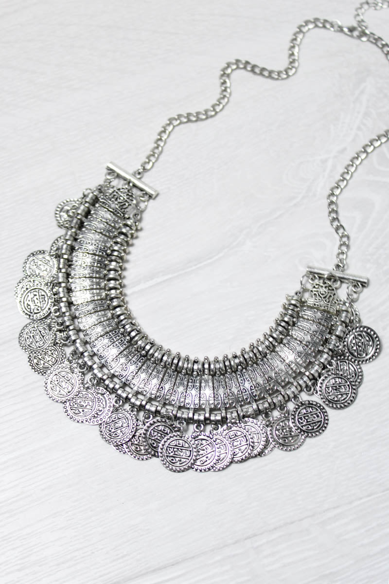 Gypsy Coin Necklace - little-lies-uk