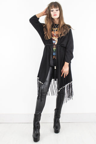 Midnight Train Kimono Cardigan - little-lies-uk