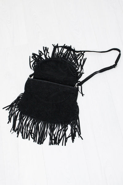 Viper Suede Bag Black