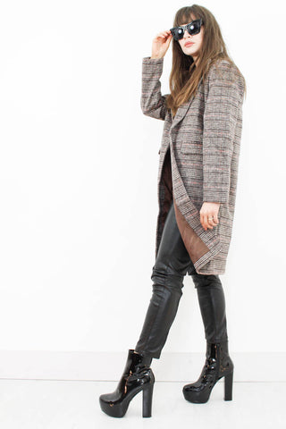 Check Me Out Boyfriend Coat - little-lies-uk