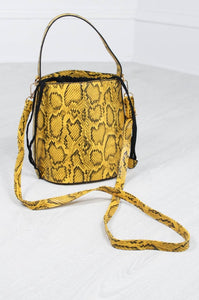 Arizona Snake Bucket Bag - little-lies-uk