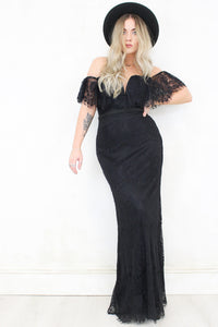 Imagine Black Maxi Dress
